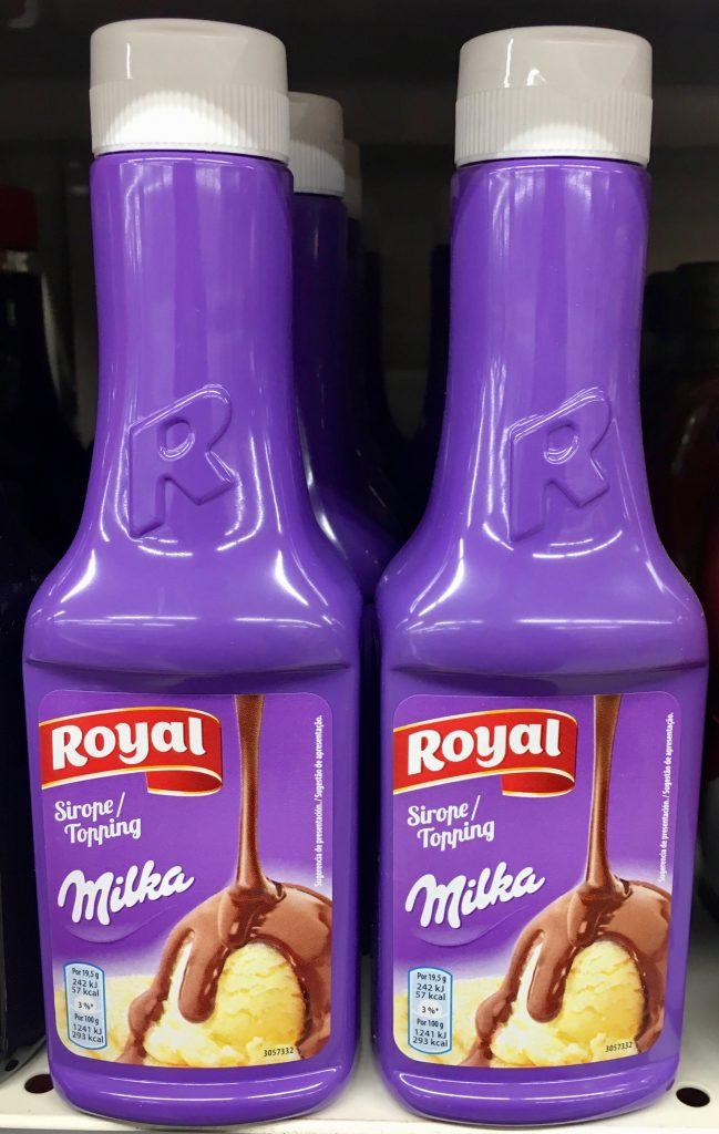 Royal Milka Soße