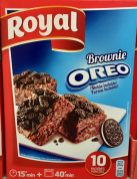 Royal Oreo Brownie Backmischung