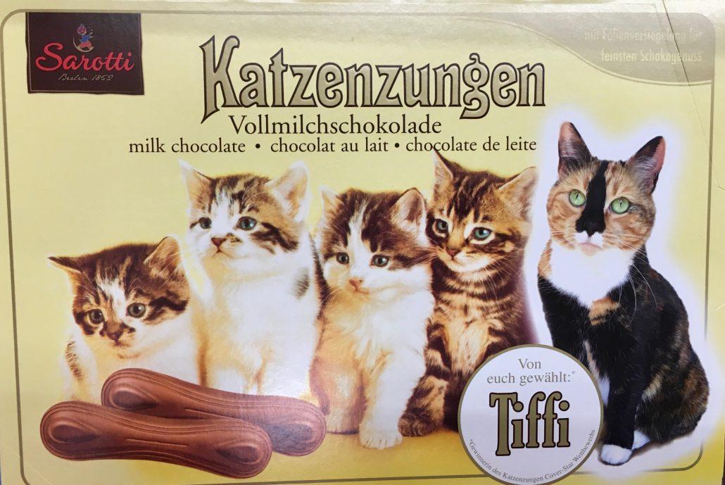 Sarotti Katzenzungen Vollmilch Tiffi
