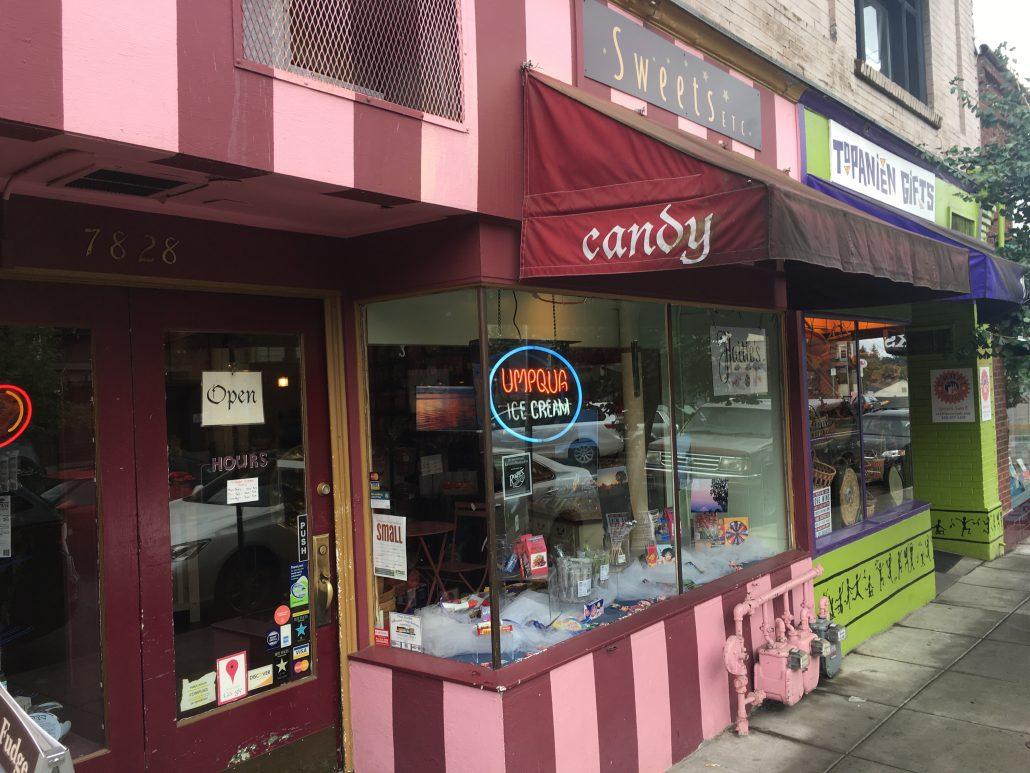 Sweets Etc Portland Outside