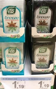 TicTac Breeze Mint