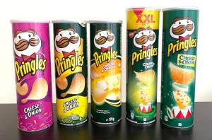 Pringles Cheese+Onion von 2004 bis 2017