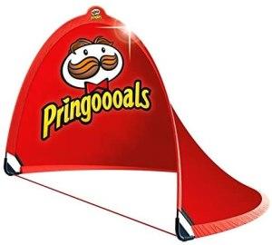 Pringles Fußball-Tor Zelt