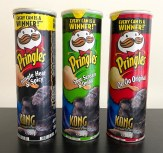 Pringles King Kong Edition Jungle Heat+Spicy-Sour Scream+Onion-Oh Oh Original 200G