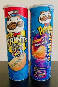Pringles Prints Trivial Pursuit+Sceneit 161Gramm