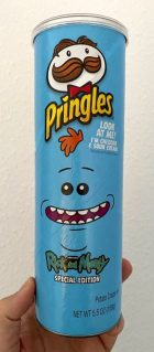 Pringles Special Edition Rick and Morty Chedar + Sour Cream 158G