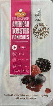 American Pancakes Toast