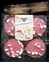 Dan Cake Pink Marshmallow Capcakes Flamingo