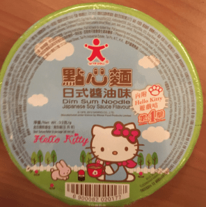 Hello Kitty Nudelsuppe