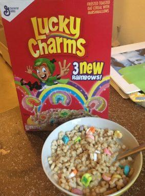 Lucky Charms Rainbows General Mills Schüssel