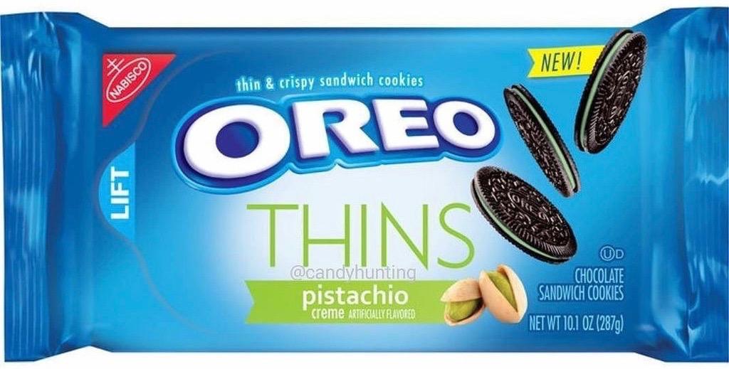 Oreo Thins Pistachio