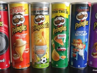 pringles chips rainbow