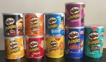 Kleine Pringles-Dosen aus aller Welt