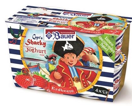 Licensing bei Joghurts und Puddings: Marken und Comics