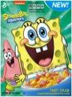 Cornflakes mit Spongebob drauf...