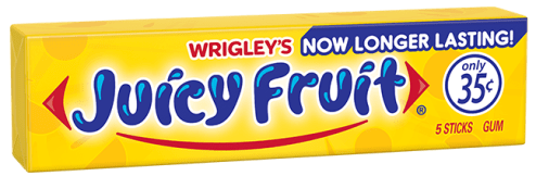 Wrighleys Juicy Fruit Tutti Frutti