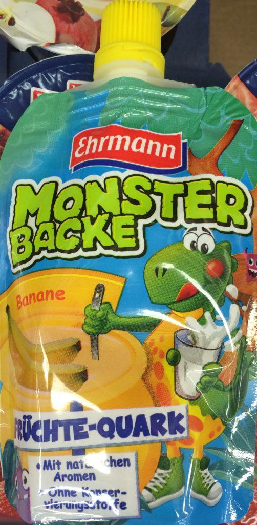 Ehrmann Monsterbacke Banane