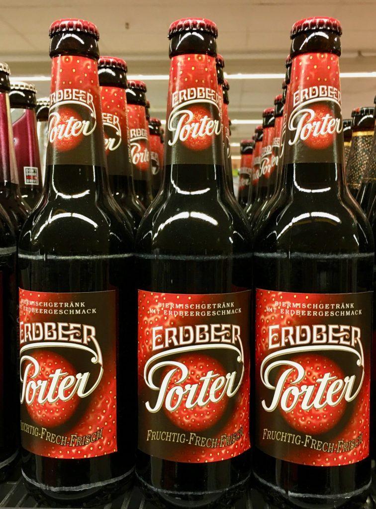 Erdbeer Porter