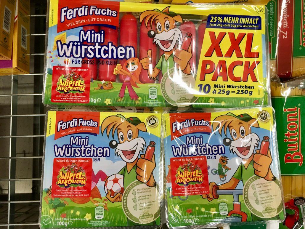 Ferdi Fuchs Mini Würstchen XXL Netto