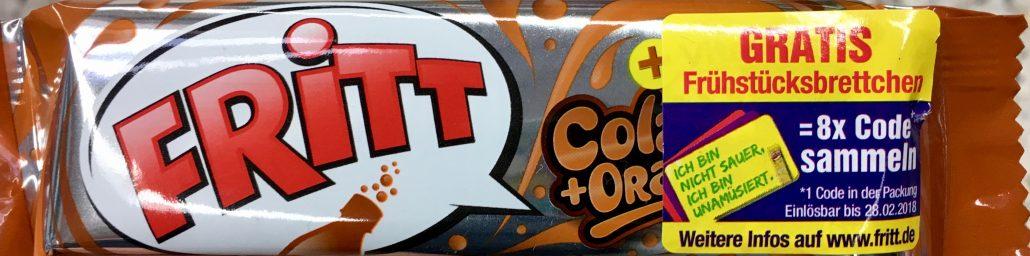 Fritt Cola Krüger Werbung Gratis Sammelcode