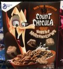 General Mills Count Chocula Monser Marshmallows Halloween Cereals