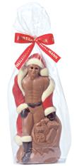 Heilemann Sexy Weihnachtsmann aus Schokolade Viba