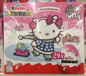 Ferrero Hello Kitty Adventskalender Überraschungseier