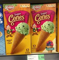 Keebler Sugar Cones Eistüten