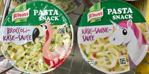 Knorr Pasta Einhorn -Flamingo
