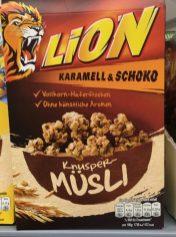Nestle Lion Knuspermüsli
