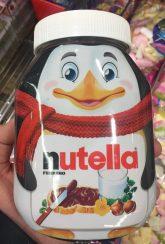 Nutella Pinguin Großglas Blickdicht