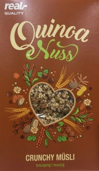 real Quinoa Nuss Crunchy Müsli