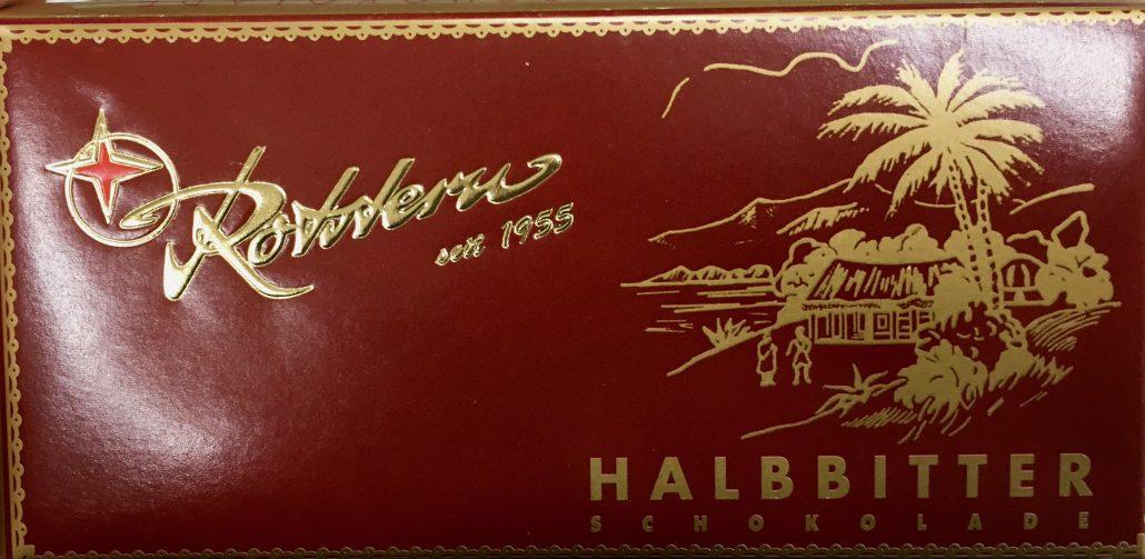 Rotstern Halbbiter Tafelschokolade
