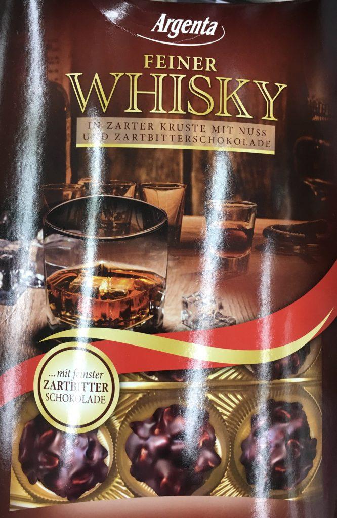 Argenta Feiner Whisky in zarter Kruste mit Nuss und Zartbitterschokolade