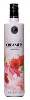 Berentzen Creamers Sahnelikör Rhabarber-Erdbeer