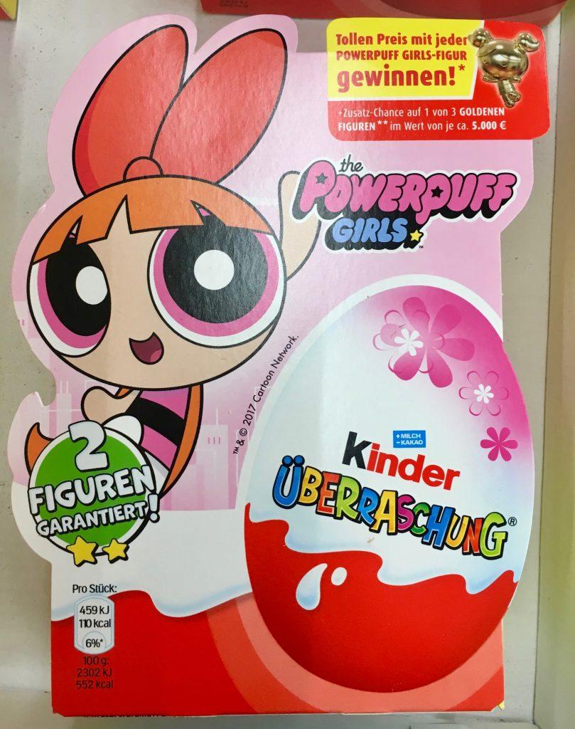 Ferrero Kinder Überraschung Powerpuff Girls