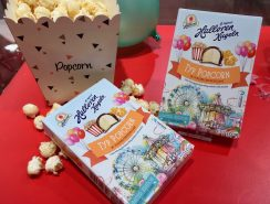 Halloren Kugeln Typ Kirmes Popcorn und Zuckerwatte