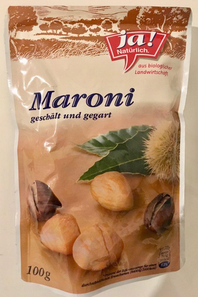 Ja natürlich Maroni