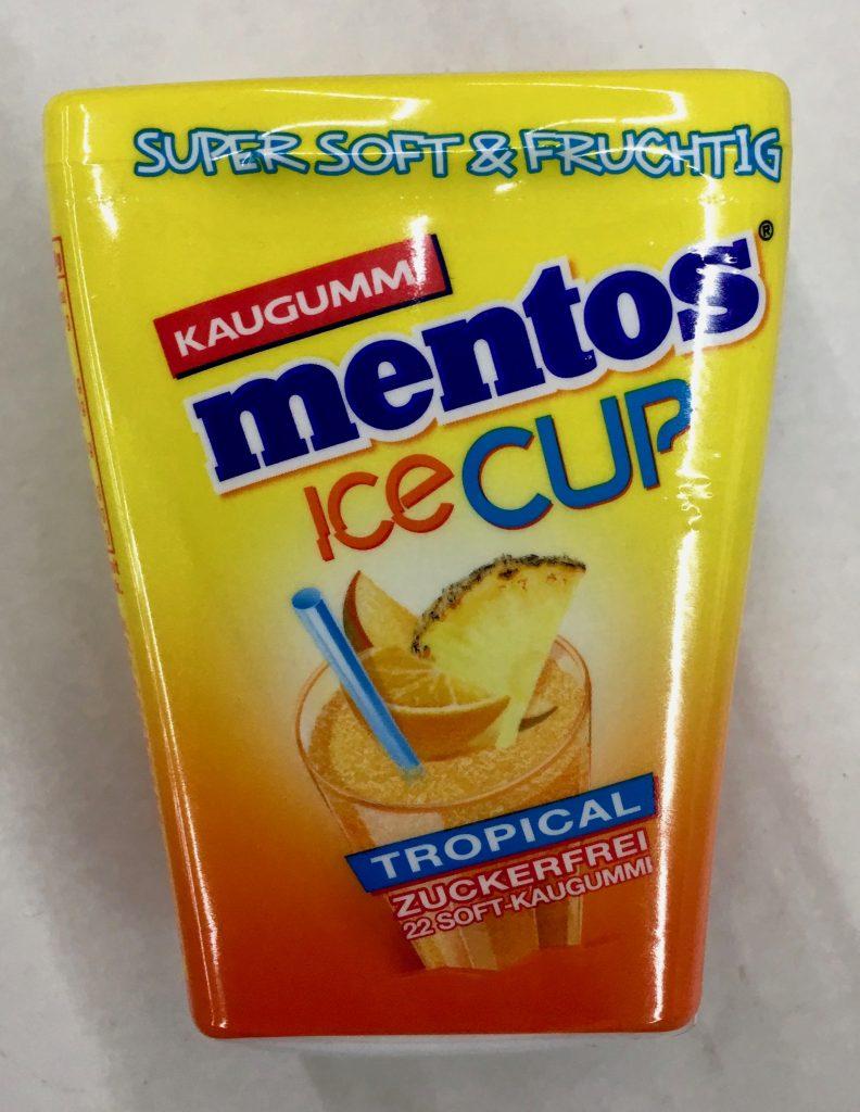 Mentos Kaugummi ICECUPS Tropical