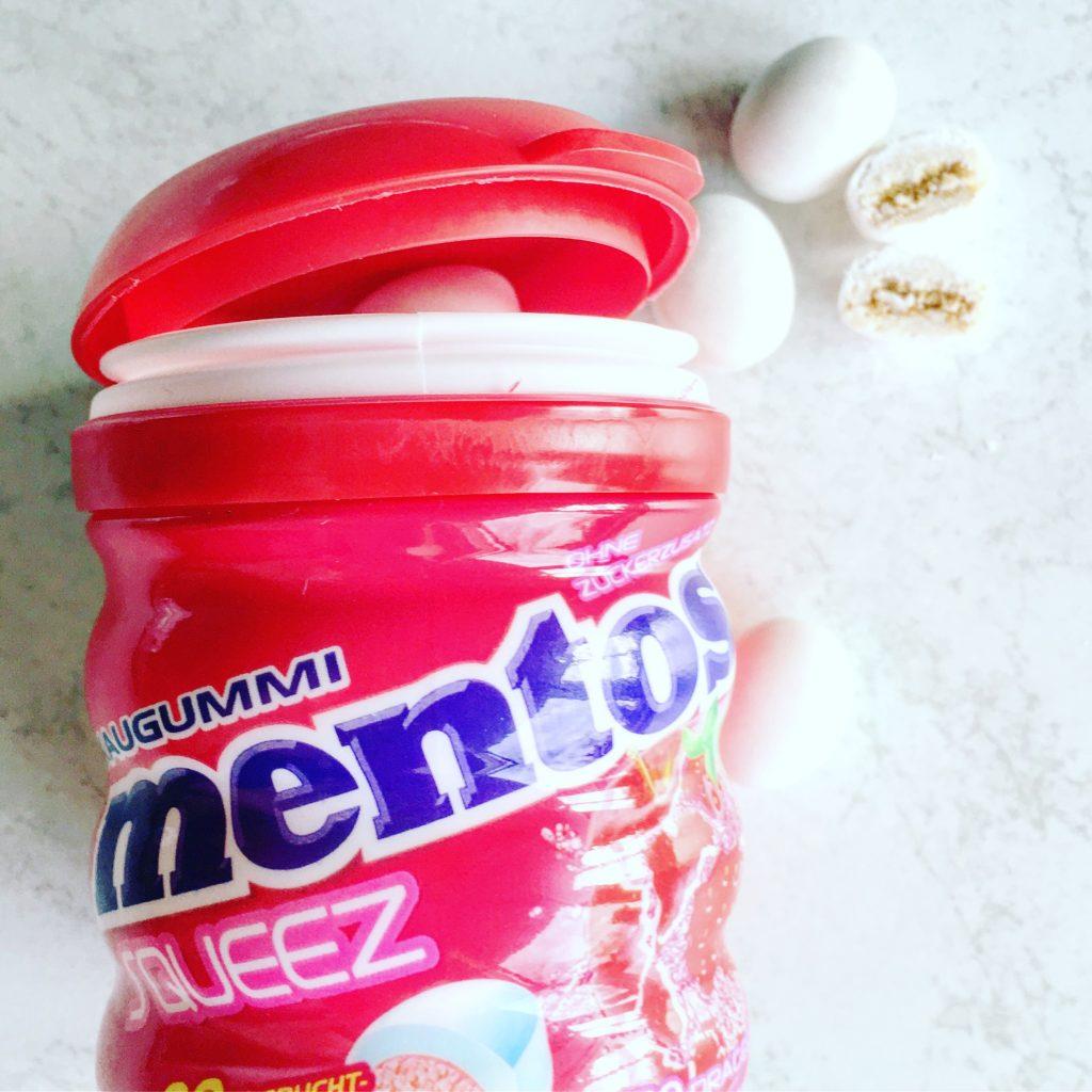 Mentos Squeez Erdbeer