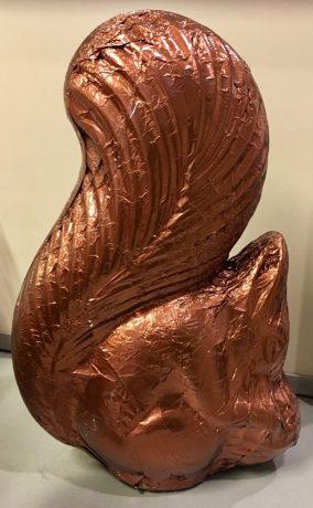 TK Max-Eichhörnchen Schokoladen-Hohlfigur