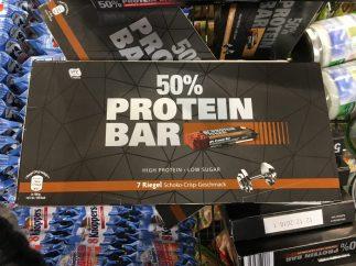 50% Proteinbar Schoko-Crisp