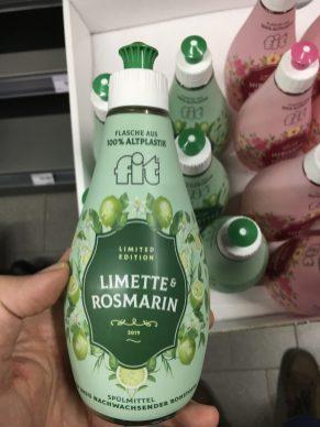 Fit Spülmittel Limited Edition 2019 Limette+Rosmarin