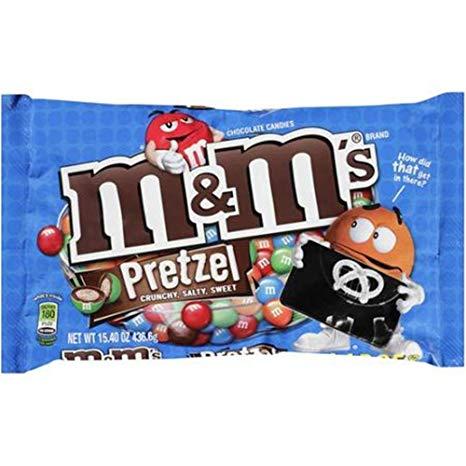 Mars M+M Pretzel