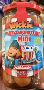 Böcklunder Wickie party-Würstchen Mini