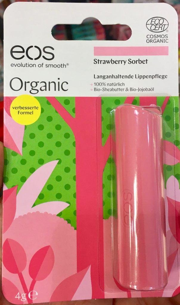 EOS Organic Strawberry Sorbet