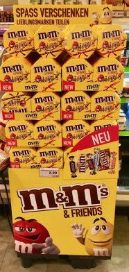 Mars M+M+Friends Schachteln Aufsteller