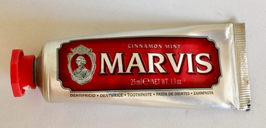 Marvis Cinnamon Mint 25 Gramm Made in Italy