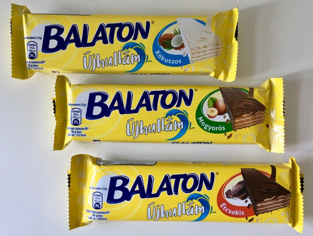 Nestle Ungarn Balaton Waffel