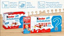 Personalisierte Kinderschokolade-Verpackungen